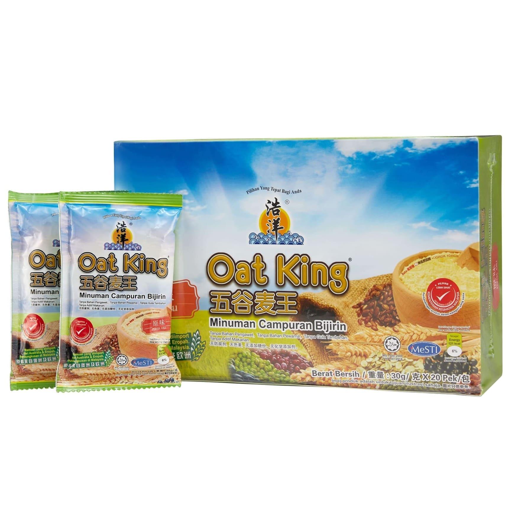 Ngũ cốc dinh dưỡng nguyên cám Oat King 600gr